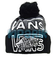 Шапка Vans Off The Wall с помпоном