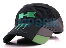 Бейсболка Kawasaki Monster Energy из плащевки