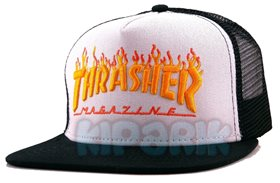 Бейсболка Thrasher Magazine с сеткой